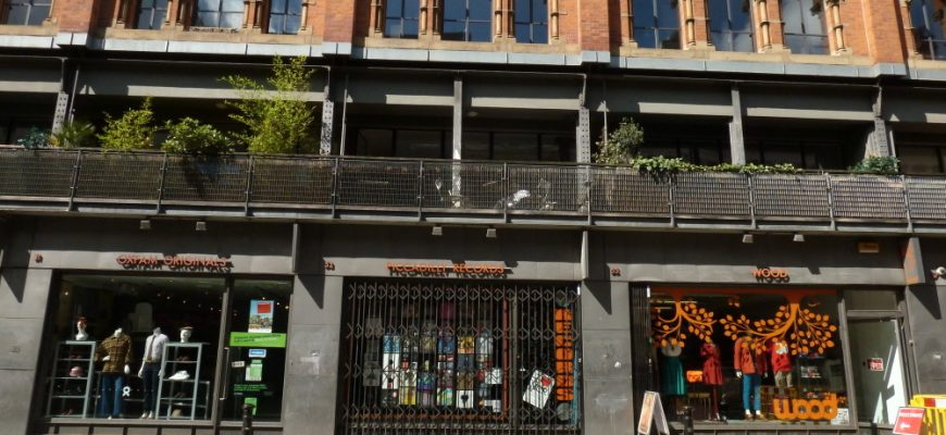 Shops in Northern Quarter